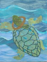 Turtle and Yoke 8.5x11, collage