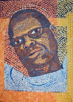 Albert Cut paper mosaic